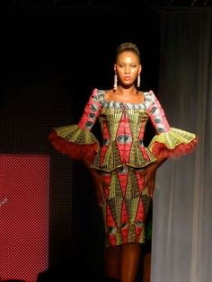 Vlisco Fashion Show Kinshasa ~Latest African Fashion, African Prints, African fashion styles, African clothing, Nigerian style, Ghanaian fashion, African women dresses, African Bags, African shoes, Kitenge, Gele, Nigerian fashion, Ankara, Aso okè, Kenté, brocade. ~DK