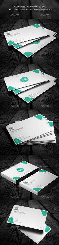 Creative Business Card V Business Cards Business And Creative - 35 x2 business card template