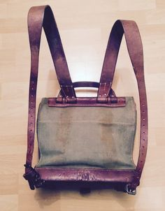Rare 1941 Swiss Army ammunition backpack