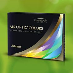 Air Optix Colors die neue Farblinse mit Sehstärke - Lensspirit #Kontaktlinsen