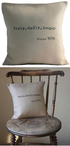 Would be a great wedding present with the wedding date on it!