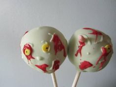 #wiltoncontest Zombie Cakepops