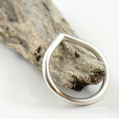 Pointy Silver Band Ring by SDJewelry on Etsy, $34.00