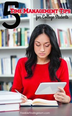 5 Tips for Better Time Management for College Students - Too much to do and too little time? Learn helpful tips.