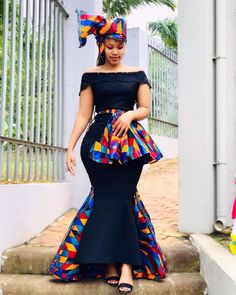 2020 Stylish And Creative Ankara Styles Inspiration for African Ladies To Check Out African Fashion Ankara, Latest African Fashion Dresses, African Print Fashion, Africa Fashion, South African Wedding Dress, African Wedding Attire, African Attire, African Wear, African Style