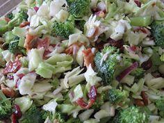 Food Tastes Good!: Lacie's Infamous Broccoli Craisin Salad