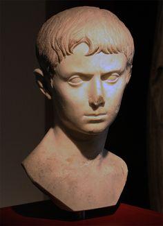 Portrait of Gaius Caesar (?). Marble. Inv. No. P. G. 1. Aquileia, National Archaeological Museum
