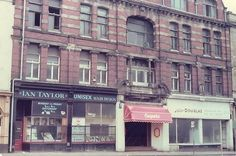 Hartlepool History Then & Now. Caspers night club formerly the Devon. 1980's.