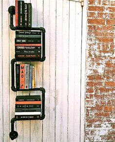 Pipe Book Shelving