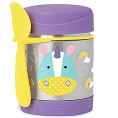 Unicorn Baby Feeding Essentials   Plates, Bowls, Bottles, Bibs & More – All Things Unicorn Baby Food Containers, Food Storage Containers, Plastik Box, Skip Hop Zoo, Stainless Steel Containers, Baby Food Storage, Keep Food Warm, Warm Food, Food Jar