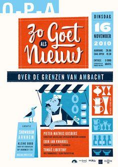 Zo Goet als nieuw Poster (O-P-A) by Esther Aarts, via Flickr
