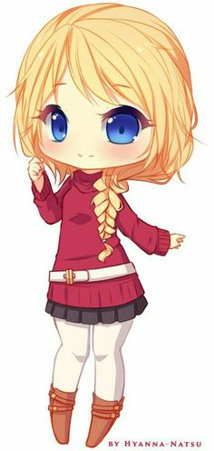 Commission - Erika Sketch Chibi 1 by Hyanna-Natsu on DeviantArt Sooo cute! I'm in love with is artist! Cute Anime Chibi, Kawaii Chibi, Kawaii Cute, Kawaii Girl, Manga Girl, Anime Manga, Anime Art, Chibi Characters, Cute Characters