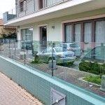 Recinzione in vetro trasparente - Roma - VetroeXpert - Balaustre Parapetti Recinzioni