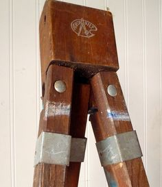 Vintage Anco Wood Tripod Easel Base