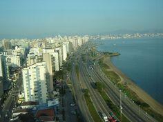 santa catarina brazil | Florianopolis, Avenida Beira Mar, Santa Catarina, Brazil (Mariordo ...