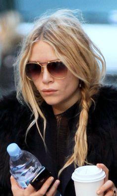 5 ways to wear a side braid like Mary-Kate Olsen #hairspiration #hairinspo #hairinspiration