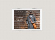 Shinola e-commerce website on Behance