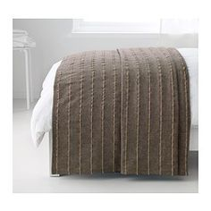 TALLÖRT Bedspread $30 IKEA The bedspread has a lively texture created by thicker jute threads interwoven into the cotton fabric and looks decorative on your bed
