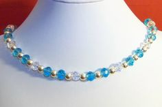 "SUMMER CLEARANCE SALE!  24 1/2"" Swarovski crystal necklace by GemsandCrystals on Etsy, $57.00"