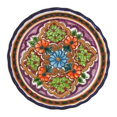 Small Talavera Plate