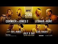 UFC 200 Extended Preview Video - http://www.lowkickmma.com/UFC/ufc-200-extended-preview-video/