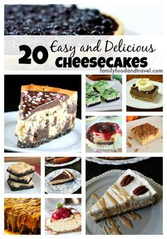20 Easy and Delicious Cheesecakes - Family Food And Travel