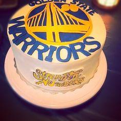 Golden State Garriors cake