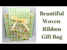 Beautiful Woven Ribbon Gift Bag - YouTube