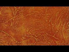 ▶ RILAKDEKOR - Нанесение декоративной штукатурки ATACAMA Рельеф выветренного песчаника - YouTube