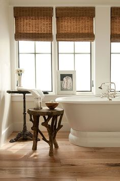 Window Treatments for Master Bath   On The Waterfront   Projects   Mohon-Imber