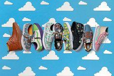 Vans et Pixar lancent les sneakers Toy Story