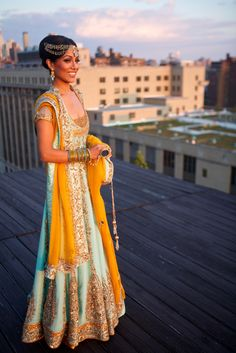 My favorite Indian wedding dress!