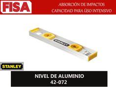 NIVEL DE ALUMINIO 42-072. Absoción de impactos capacidad para uso intensivo- FERRETERIA INDUSTRIAL -FISA S.A.S Carrera 25 # 17 - 64 Teléfono: 201 05 55 www.fisa.com.co/ Twitter:@FISA_Colombia Facebook: Ferreteria Industrial FISA Colombia