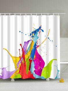 Curtains, Drapes & Valances 3d Sun Snow Forest 8 Shower Curtain Waterproof Fiber Bathroom Windows Toilet
