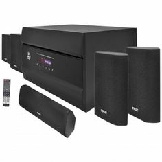 Pyle  400-Watt 5.1 Channel Home Theater System with AM/FM Tuner, CD, DVD & MP3 Player Compatible (PT628A)