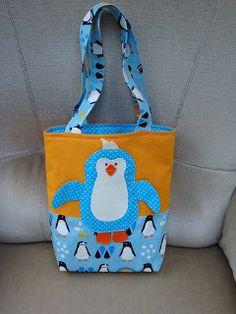 Danjel's poppenblog: Een pinguïn tas