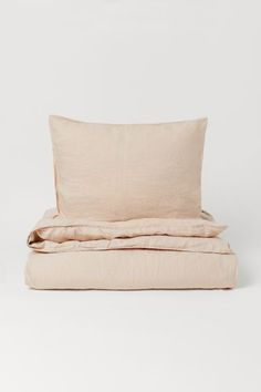 Single Duvet Cover, Duvet Cover Sets, Linen Fabric, Linen Bedding, Washed Linen Duvet Cover, Floor Runners, Lit Simple, H&m Home, Soft Furnishings