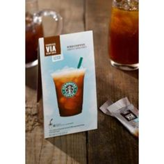 Starbucks Free VIA Iced Coffee Sweetened Sachet Giveaway
