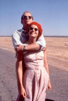 Debra Winger, John Malkovich in The Sheltering Sky (1989) Director: Bernardo Bertolucci.