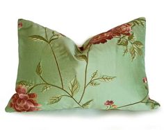 Hey, I found this really awesome Etsy listing at https://www.etsy.com/listing/193412284/luxury-embroidered-pillows-silk-floral