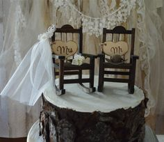bride and groom rocking chair - Google Search