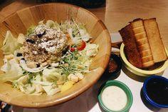 我最愛的木盆沙拉 - #鮪魚木盆沙拉 #丘比 - 需要吃點草  #lunch #cubebrunch  #丘比手作土司早午餐  #vsco #vscotaiwan #vscocam  #igers #igersoftheday #igerstaiwan