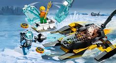 OUT OF ALL THE HEROES LEGO COULD MAKE - THEY DECIDE AQUAMAN SHOULD BE ONE?!?!  WORST CHOICE YET!!!!!!! 76000 Arctic Batman™ vs. Mr. Freeze™: Aquaman™ on Ice