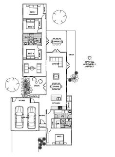 The Casia offers the very best in energy efficient home design from Green Homes Australia. Take a look at the floor plan here. Modern House Plans, Modern House Design, House Floor Plans, Home Design, Design Ideas, Passive Solar Homes, Passive House, Energy Australia, House Plans Australia