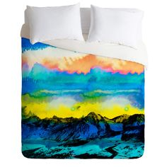 CayenaBlanca Wild West Sunrise Duvet Cover | DENY Designs Home Accessories