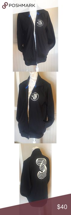 """VINTAGE adidas """"3"""" Jacket You will not find this anywhere else! A very rare piece! Awesome condition and one of a kind! Adidas Jackets & Coats"""
