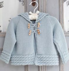 knitted patterns for baby - Google Search