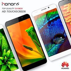#Huawei Honor 6 with 5.0-inch JDI FHD in-cell display with 445 PPI. #Honor6 http://bit.do/Honor6