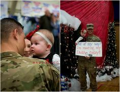 A Military Story: {Homecoming} Allison & Travis