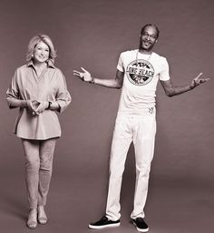 Today in News You're Pretty Sure Is A Hoax (But Isn't!), unlikely buds Snoop Dogg and Martha Stewart are getting their own reality show!